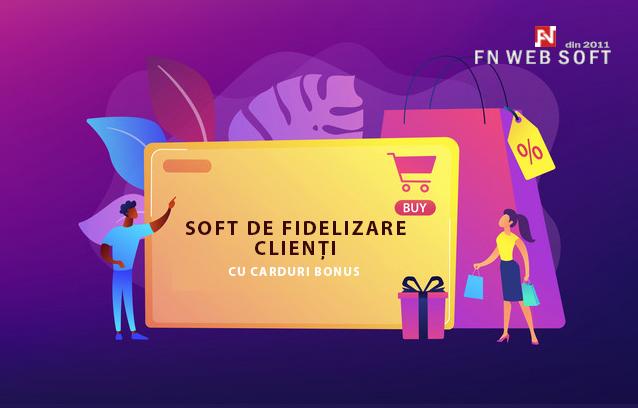 Sistem de rasplata pentru clienti. Strategie de marketing. Atragere si fidelizare clienti. Program de loialitate cu puncte bonus. Aplicatie web fidelizare clienti.