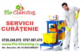 Flo Cleaning – firmă de curățenie București